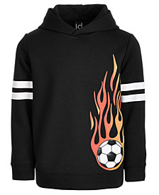 Ideology Little Boys Soccer-Print Hoodie, Created for Macys