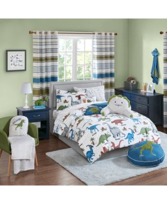 Dusty The Dino 2-Pc. Twin Comforter Mini Set, Created for Macy's