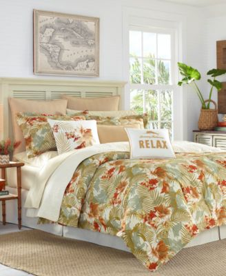 Loredo Gardens Cotton 3-Pc. Full/Queen Duvet Cover Set