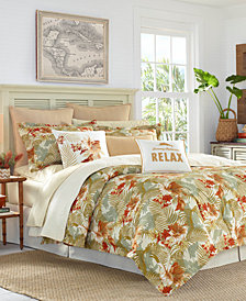 Tommy Bahama Home Loredo Gardens 4-Pc. California King Comforter Set