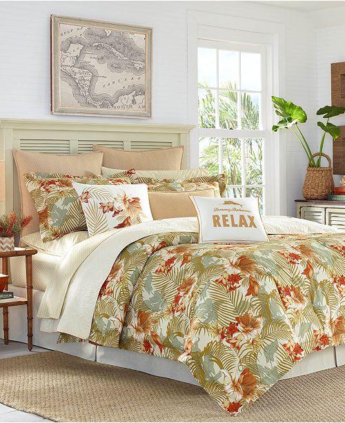 Tommy Bahama Home CLOSEOUT! Loredo Gardens 4-Pc. California King Comforter Set