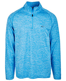 Greg Norman for Tasso Elba Soft Quarter-Zip Shirt, Created for Macy's