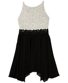 BCX Big Girls Plus Lace Fit & Flare Dress