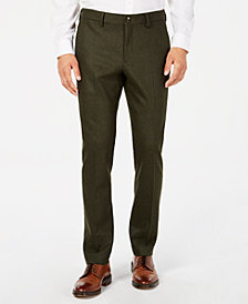 Michael Kors Men's Slim-Fit Flannel Pants