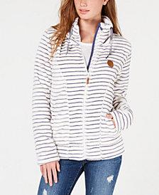 Roxy Juniors' Eskimo Zip-Up Fleece Jacket