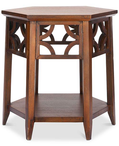 Safavieh Connor Hexagon End Table
