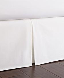 """Nautical Board Bedskirt 15""""-Full"""