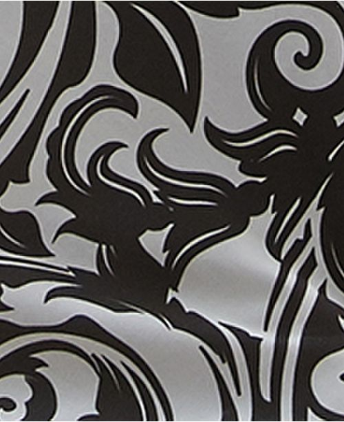 "Colcha Linens Scrollwork Bedskirt 15""-King"
