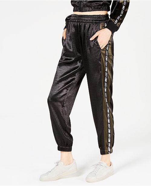 Juicy Couture Satin Graphic Track Pants   Reviews - Leggings ... f3de2a322