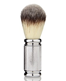 That's Smoooth Super Soft,  Cruelty Free, Synthetic Silvertip Badger Brush from The Worskhop at Macy's