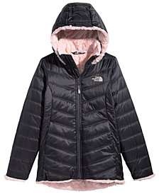 The North Face Big Girls Hooded Mossbud Swirl Parka