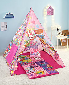 Shopkins Girls Teepee Tent Set