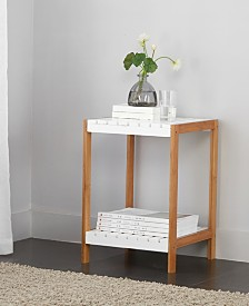 Urban Living 2 Tier Shelf End Table