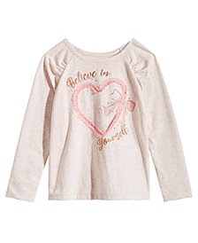 Epic Threads Toddler Girls Believe In Yourself T-Shirt, Created for Macy's