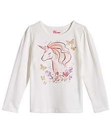Epic Threads Little Girls Unicorn Shirt, Created for Macy's