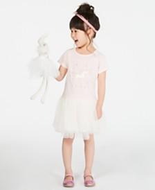 Epic Threads Toddler Girls Unicorn Tutu Dress, Created for Macy's