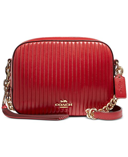 f7943cad3a40 COACH Camera Bag in Quilted Leather   Reviews - Handbags ...