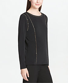 Calvin Klein Studded Top