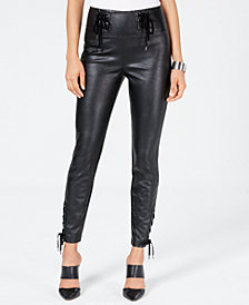 GUESS Envy Coated Skinny Pants