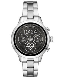Michael Kors Access Unisex Runway Stainless Steel Bracelet Touchscreen Smart Watch 41mm