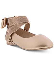 Kenneth Cole Little & Big Girls Tap Glitz Ballet Flats
