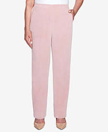 Alfred Dunner Petite Home for the Holidays Corduroy Pull-On Pants