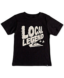 Quiksilver Little Boys Local Legend Graphic Cotton T-Shirt