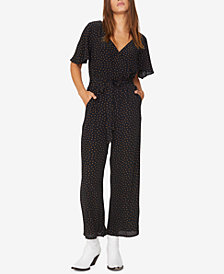 Sanctuary Chasing Winds Polka-Dot Jumpsuit