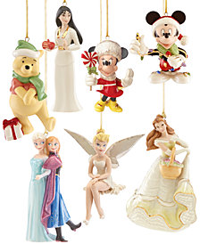 Lenox Christmas Disney Ornament Collection