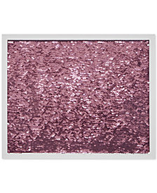 Intelligent Design Blush Mermaid Reversible Sequined Message Board with Frame