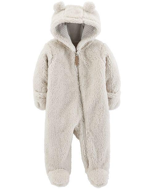 12d62f2c8 Carter s Baby Boys or Girls Footed Fleece Pram   Reviews - Coats ...