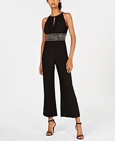 R & M Richards Embellished Jumpsuit