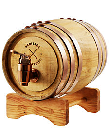 Studio Mercantile Wooden Whiskey Barrel