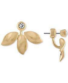 RACHEL Rachel Roy Gold-Tone Crystal Petal Earring Jackets