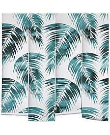 Deny Designs Schatzi Brown Maui Palm Green and White Wall Mural