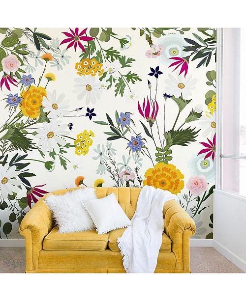 Deny Designs Iveta Abolina Bretta 8'x8' Wall Mural
