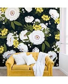 Iveta Abolina Fleurette Night 8'x8' Wall Mural
