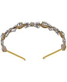 Deepa Gold-Tone Crystal & Bead Headband