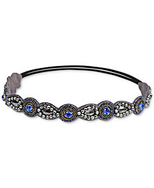Deepa Two-Tone Crystal & Bead Headband