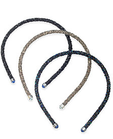 I.N.C. Multi-Tone Glitter Headband, Created for Macy's