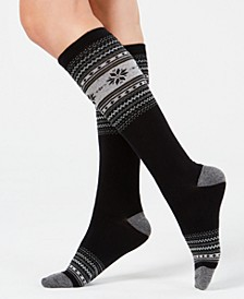 Women's Fair Isle Knee-High Socks, Created for Macy's