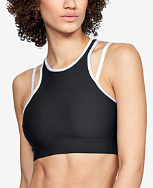 Under Armour HeatGear® Low-Impact Open-Back Sports Bra