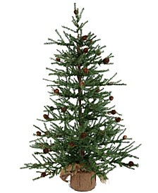 "36"" Carmel Pine Artificial Christmas Tree Unlit"