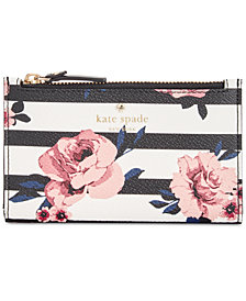kate spade new york Hyde Lane Rose Striped Mikey Wallet