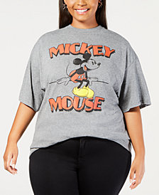 Mighty Fine Plus Size Mickey Mouse T-Shirt