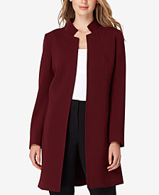 Tahari ASL Stand-Collar Open Topper