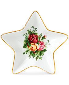 Royal Albert Old Country Roses Star Tray