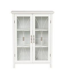 Delaney Floor Storage Cabinet with 2 Doors