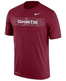 Nike Men's Alabama Crimson Tide Legend Staff Sideline T-Shirt