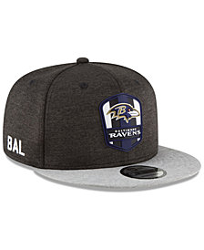 New Era Boys' Baltimore Ravens Sideline Road 9FIFTY Cap
